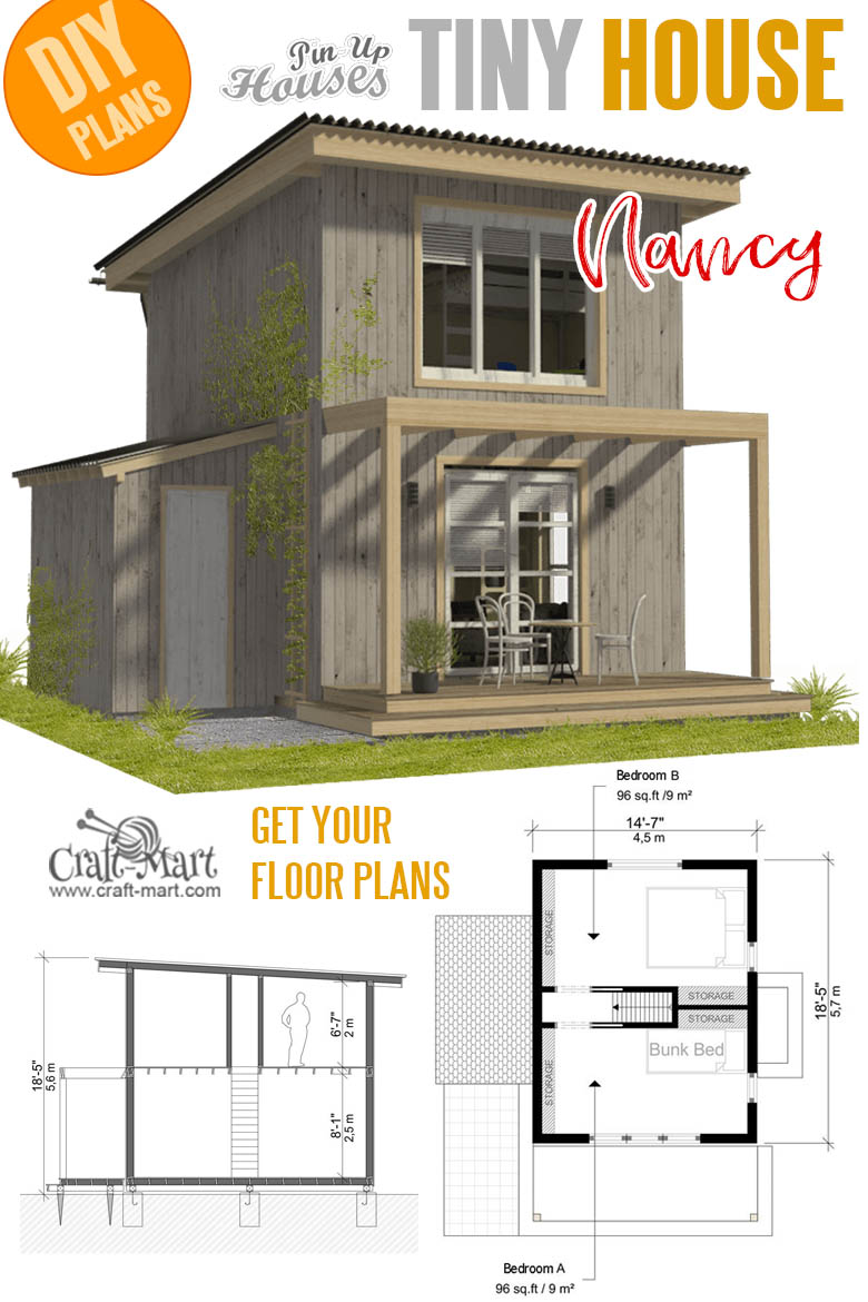 Nancy tiny house plans and cost