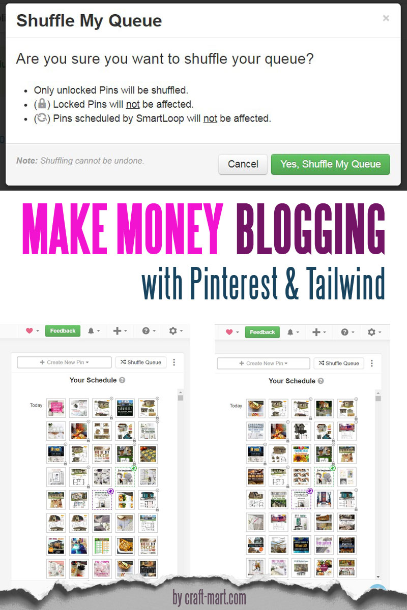 creative ways to make money blogging with Pinterest and Tailwind
