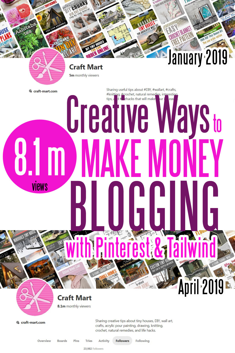 creative ways to make money online using Pinterest and Tailwind