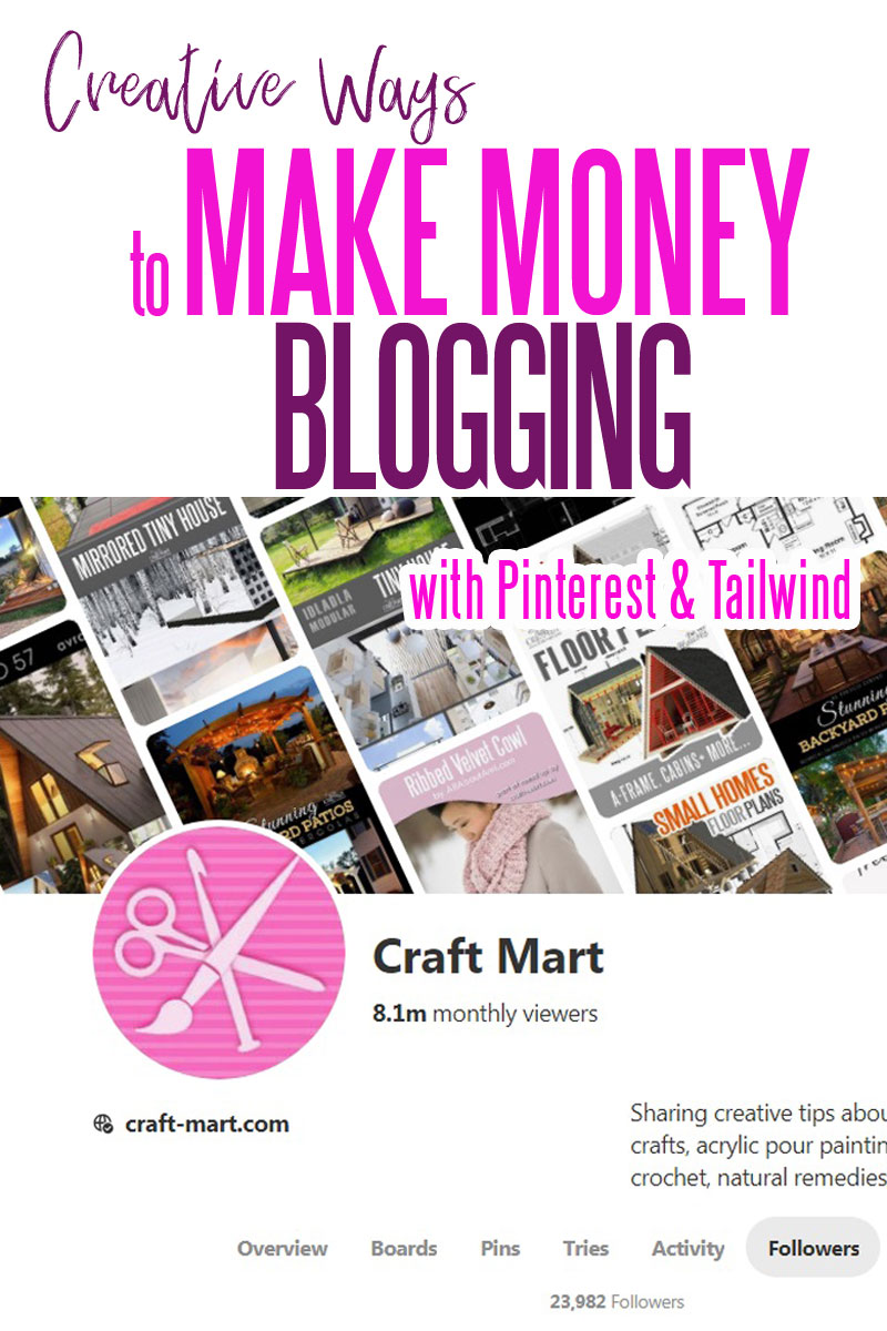 Creative ways to make money online from Pinterest traffic