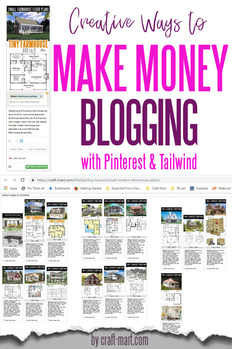 how to make money from Pinterest using Tailwind