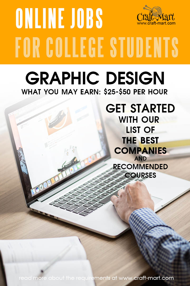 Graphic Design online jobs for college students