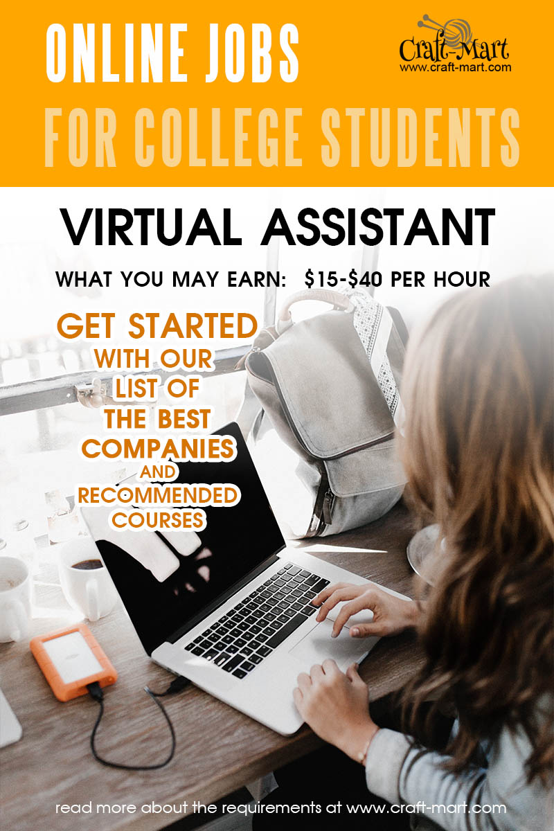 Virtual Assistant online jobs for college students