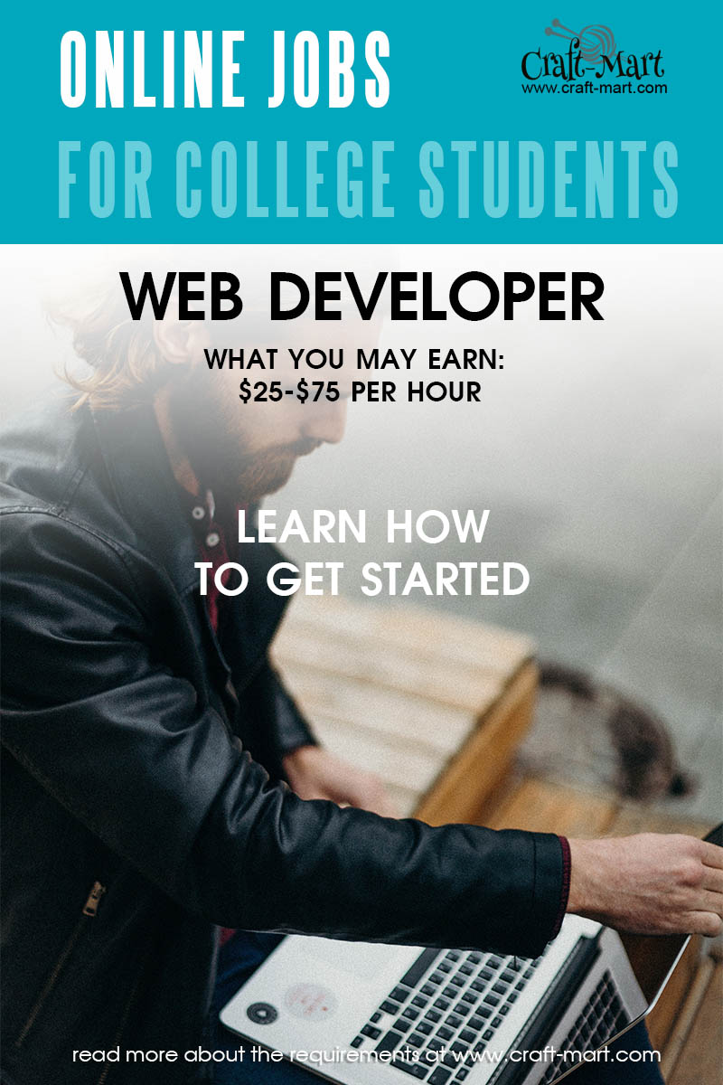 Web Developer online jobs for college students