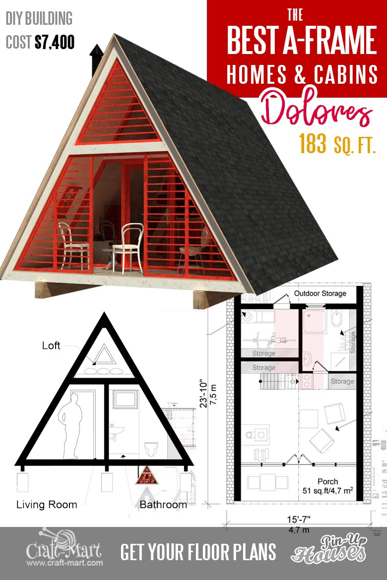plans for a frame house - Dolores