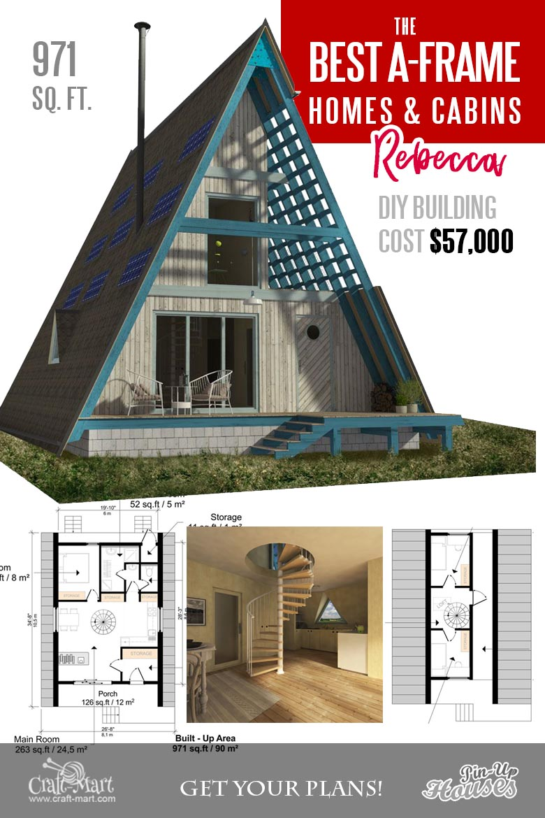 Cool A Frame Tiny House Plans Plus Tiny Cabins And Sheds Craft Mart