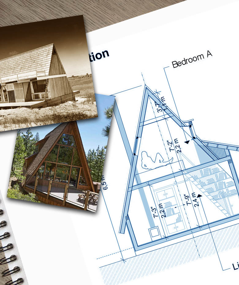 affordable plans for a frame houses and cabins