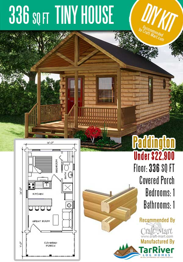 prefab log cabin kit Paddington