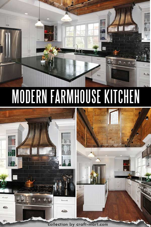 Antique kitchen remodel with reclaimed wood