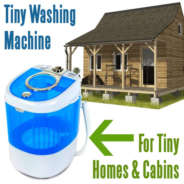 tiny washing machine for small homes