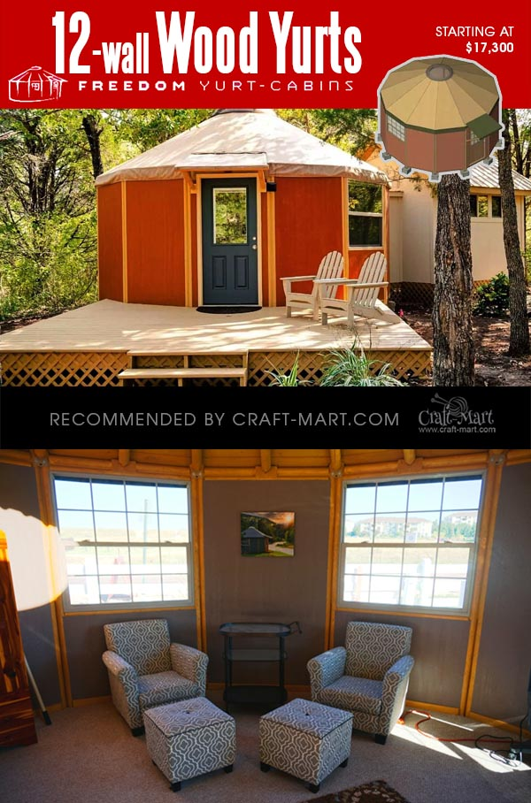 Coolest Wooden Yurt Kits For Sale You Can Assemble In 3 Days Craft Mart Our options are limitless and can fit whatever style or budget you may have. coolest wooden yurt kits for sale you