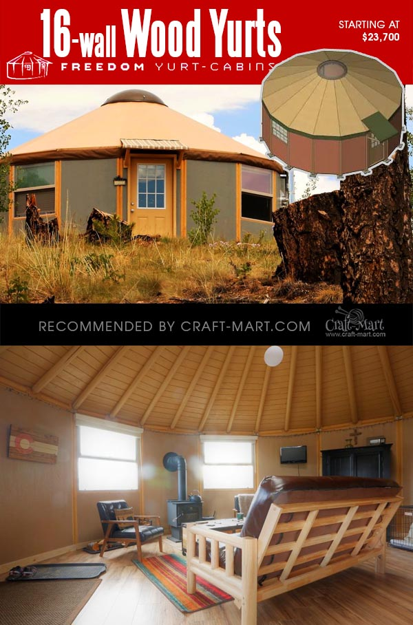 Coolest Wooden Yurt Kits For Sale You Can Assemble In 3 Days Craft Mart From northern alaska to the far reaches of the globe, nomad shelter yurts are durable, low impact, and incredibly versatile. coolest wooden yurt kits for sale you