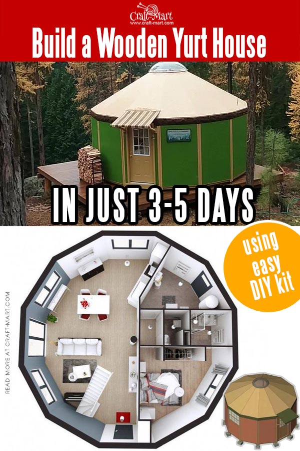 Coolest Wooden Yurt Kits For Sale You Can Assemble In 3 Days Craft Mart Luxury yurts @ affordable prices. coolest wooden yurt kits for sale you