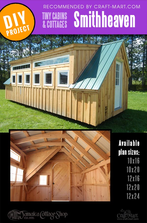 wood cabin kits for woodwork shop