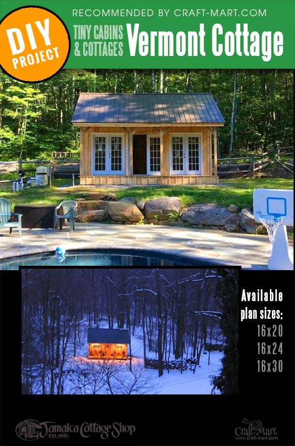 Vermont prefab cabin kit for multi-purpose use