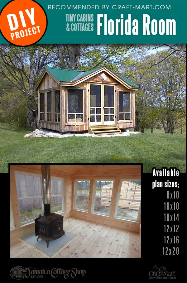 small cabin kits with large windows