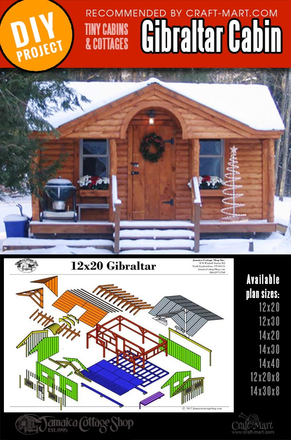 wood cabin kits for tiny house building