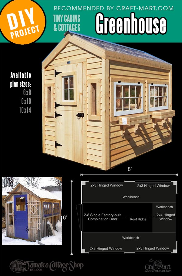 wooden greenhouse kits with translucent roof panels