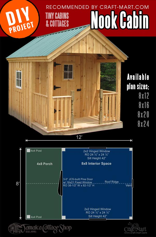 wood cabin kit for possible house on wheels
