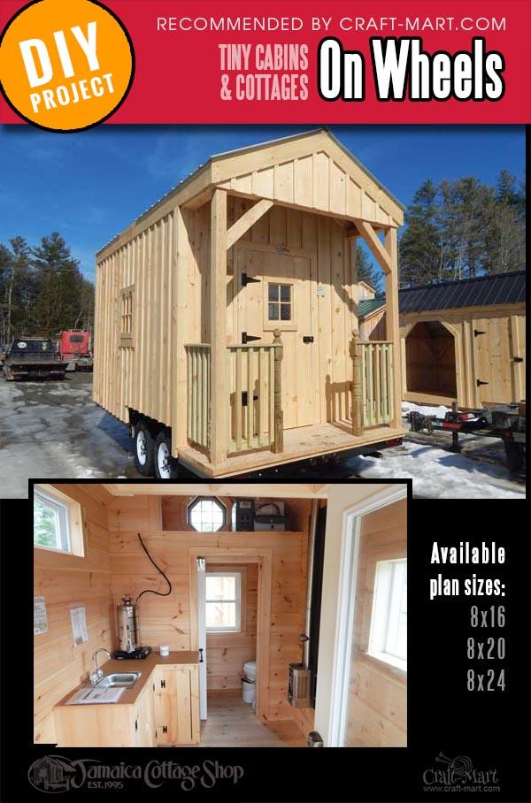 tiny house trailer kits