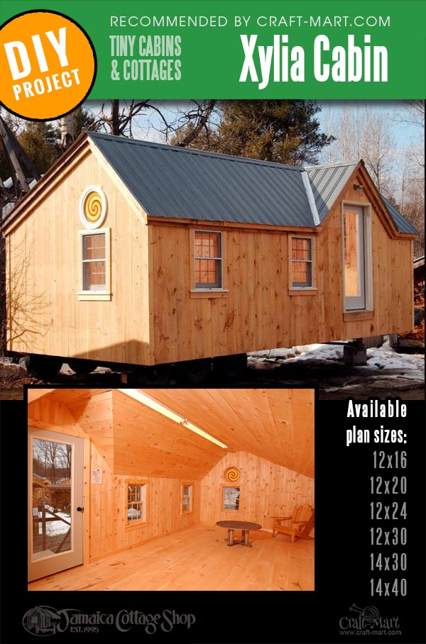 diy cabin kits of different lengths