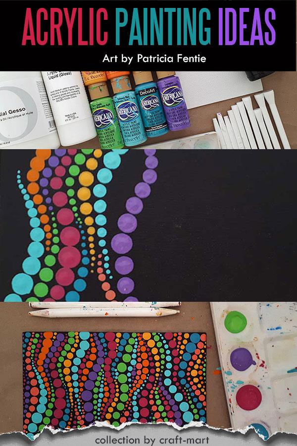 Simple Dot Painting Idea
