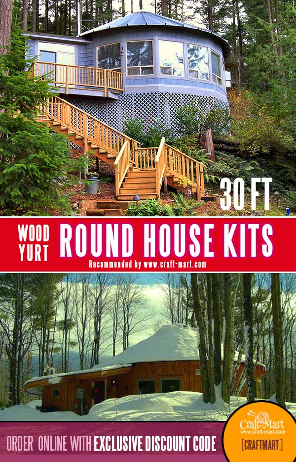 730 sq ft small roundhouse