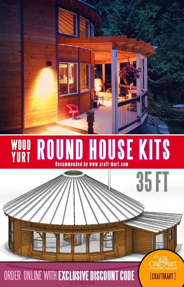 35 ft circular house kit