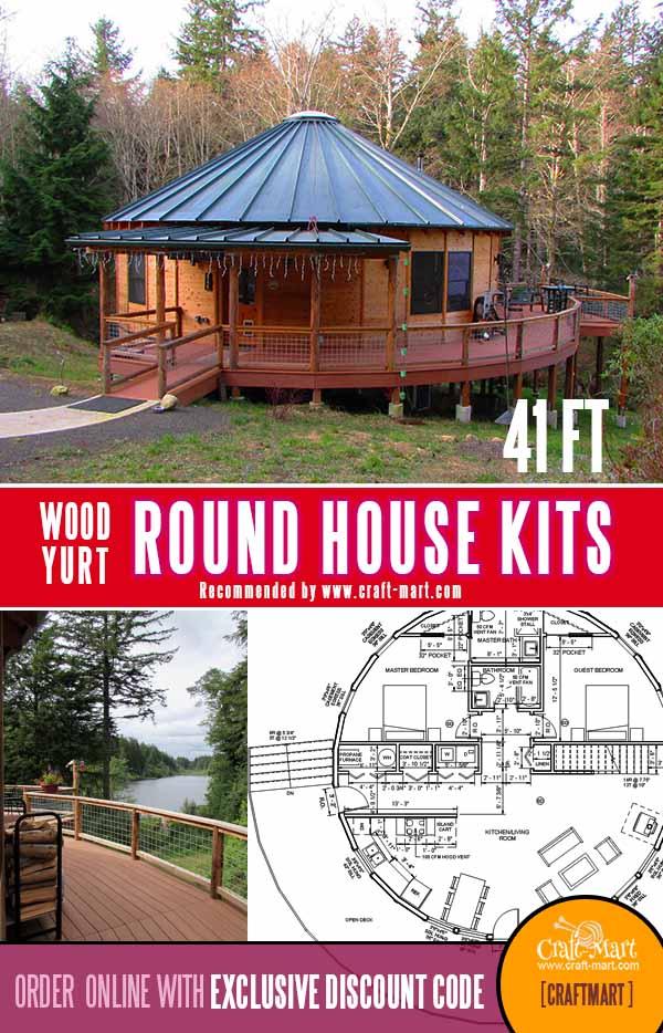 41 ft circular house kit