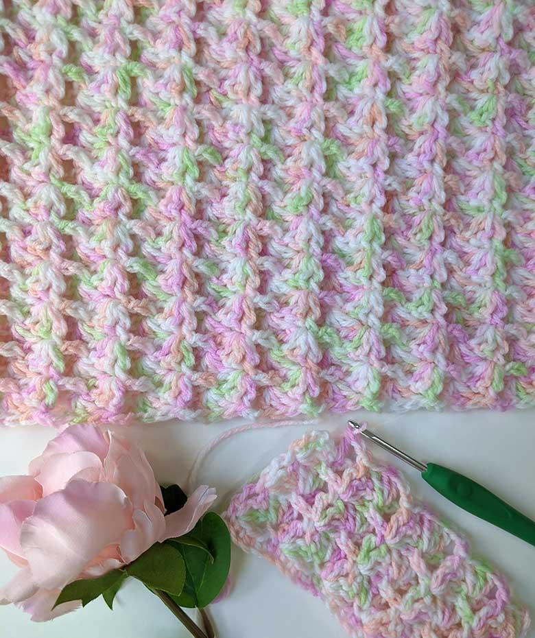 Crochet Baby Blanket Pattern Monet