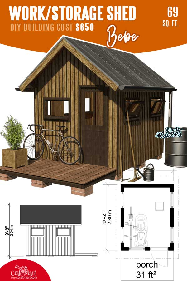 Working Shed Plans Bebe