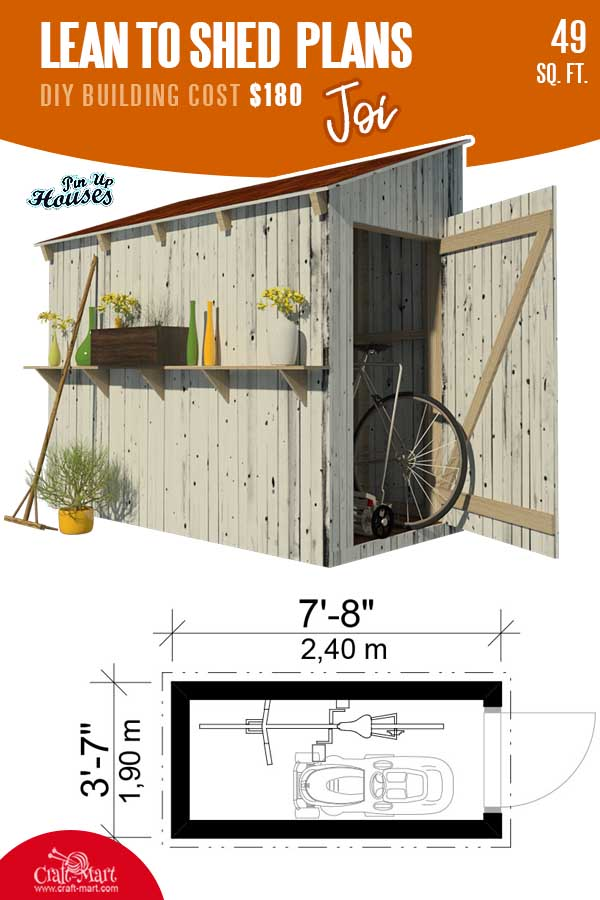 Lean-to Shed Plans Joi