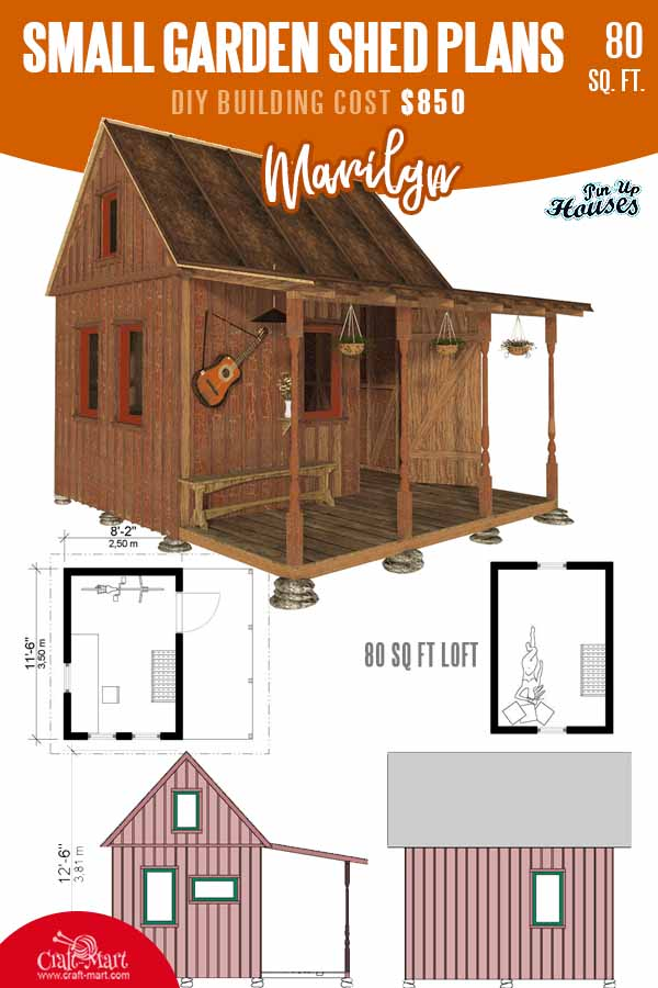 Small Garden Shed Plans Marilyn