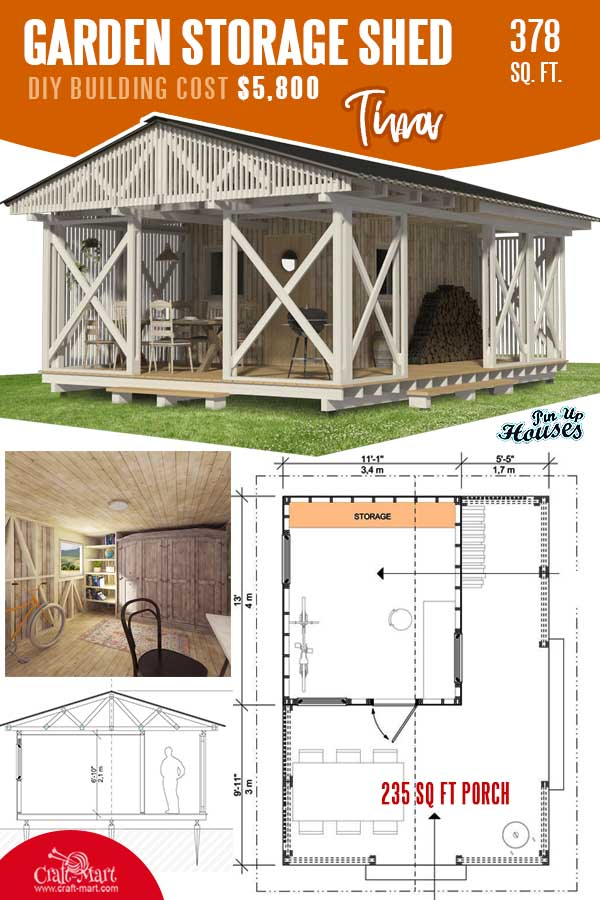 Garden Storage Shed Plans Tina