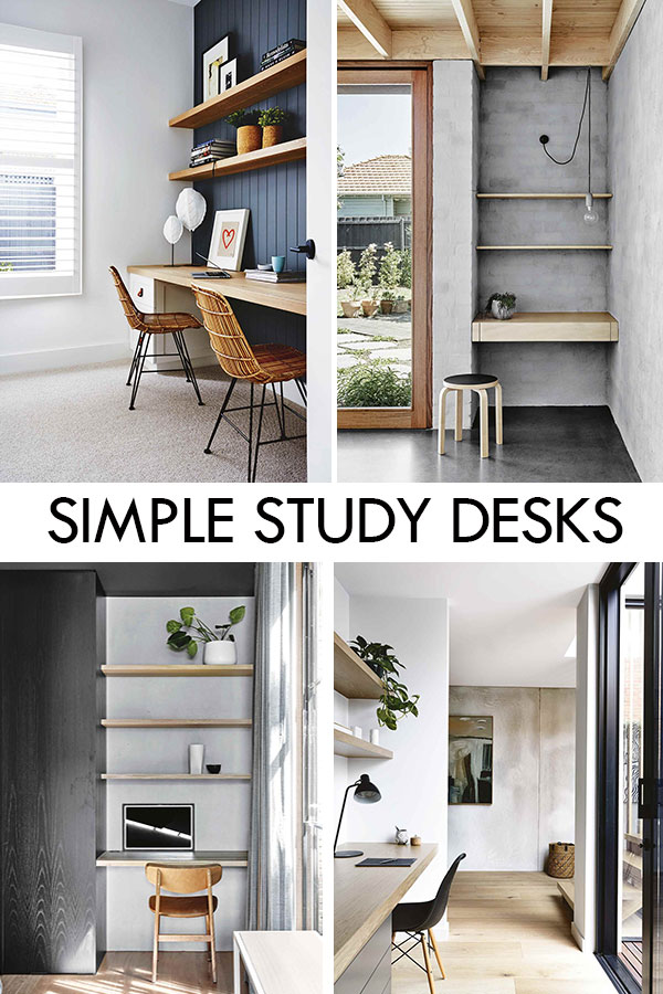 Modern Study Desks and Nooks