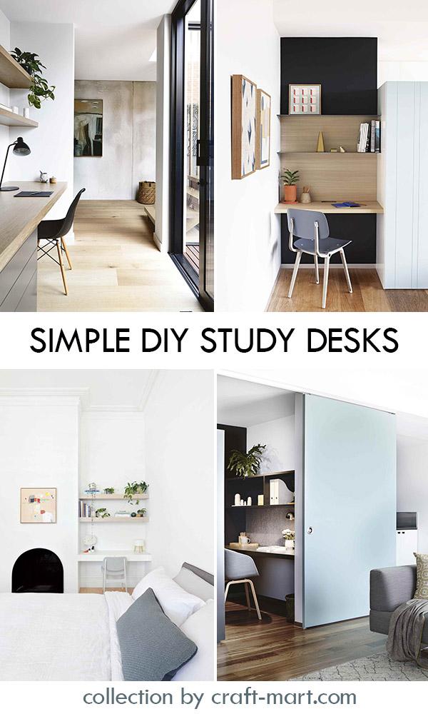 Simple DIY Study Desks