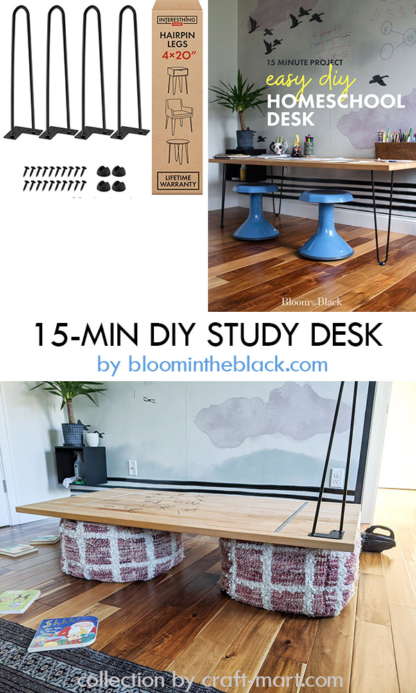 15-minute DIY Desk