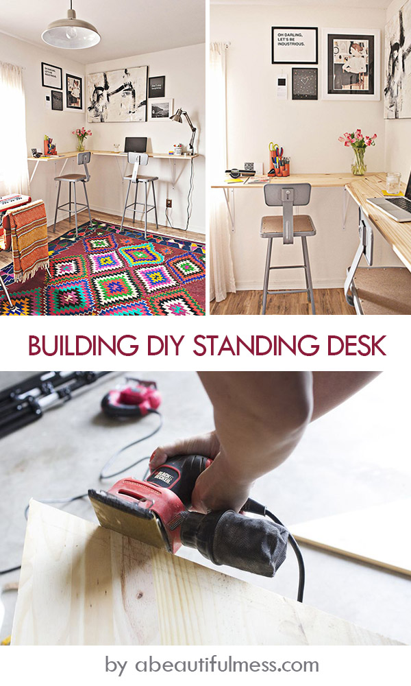 Building DIY Standing Desk