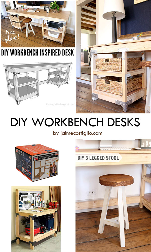 DIY Workbench Desk