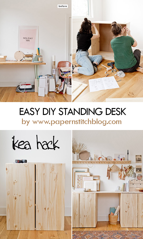 IKEA HACK: DIY Standing Desk