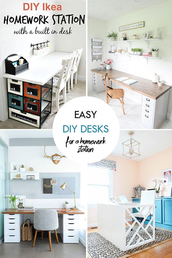 Easy DIY Desks