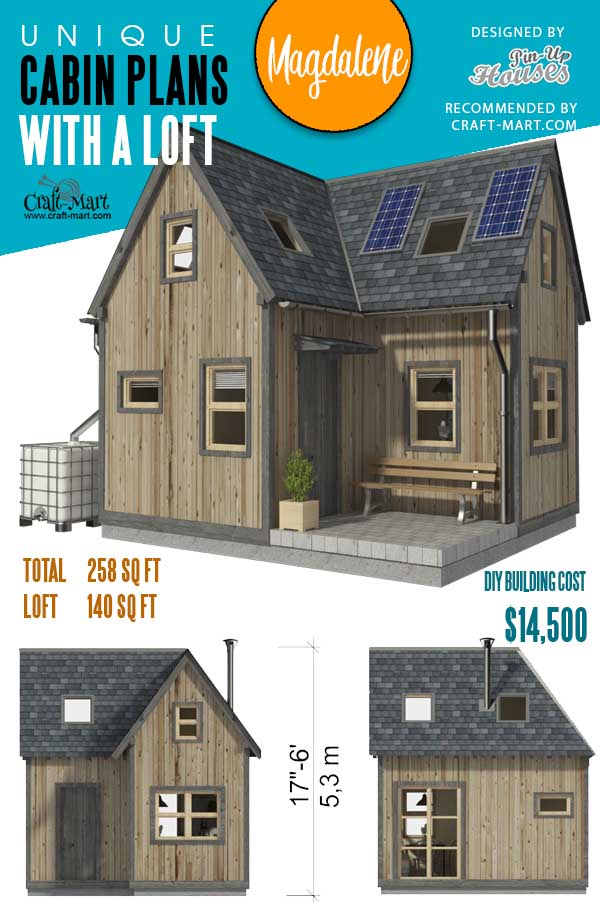 Elevations of Two Bedroom Tiny House Plans Magdalene