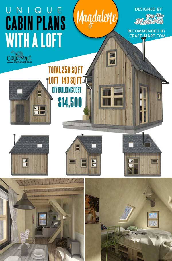 Two Bedroom Tiny House Plans Magdalene