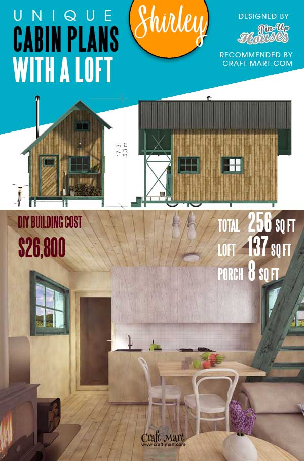 One Bedroom Cottage Plans Shirley