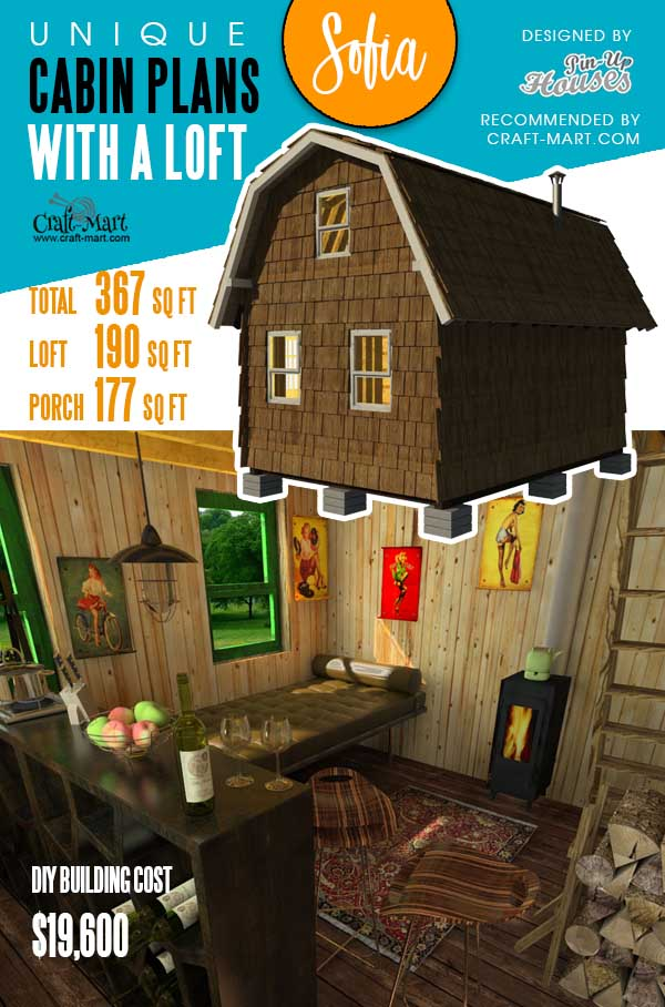 Small Gambrel Roof House Plans Sofia