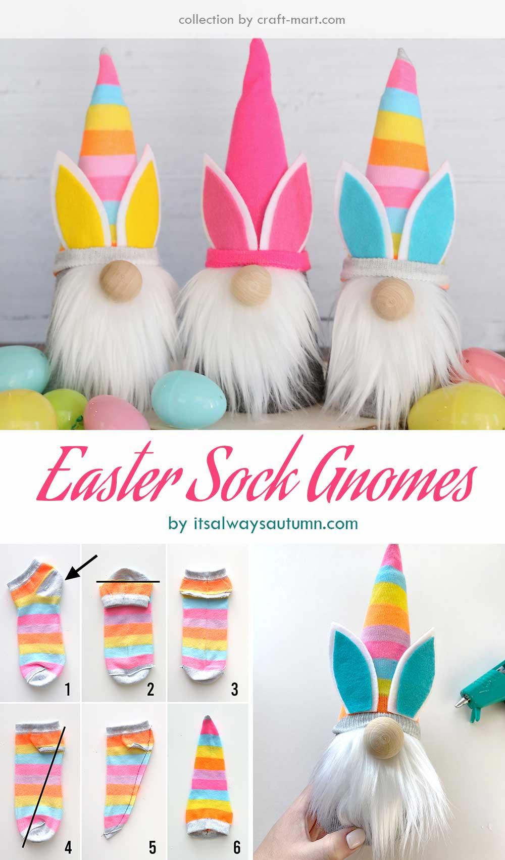 Easter Sock Gnomes