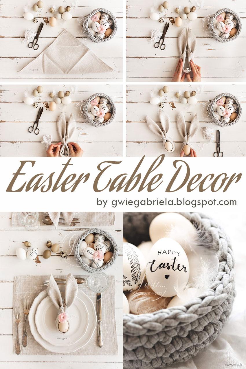 (DIY) Easter Table Decor