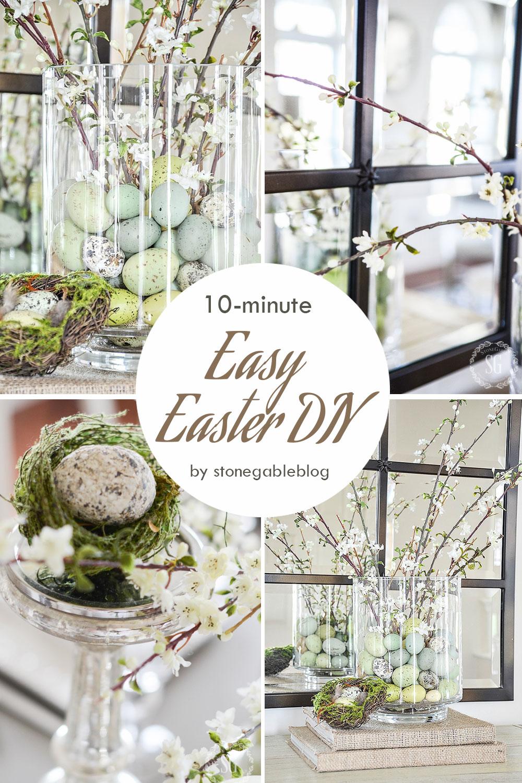 Easy Easter Arrangement DIY