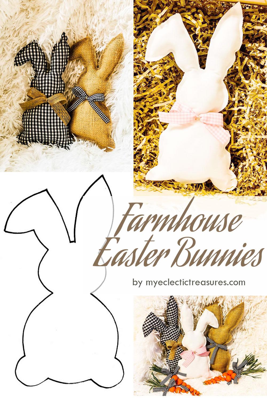 Farmhouse Easter Bunnies