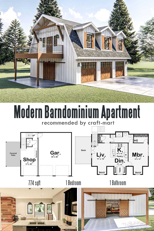 Modern Barndominium Apartment